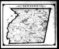 Newton Township, Delaware County 1870