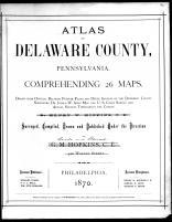 Title Page, Delaware County 1870