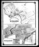 Upland, Ridley Park, Delaware County 1870