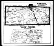 Page 033 - Green and Wolf Creek Township, Jamestown, Centretown, Mercer County 1873
