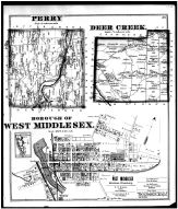 Page 039 - Perry and Deer Creek Townships, West Middlesex Borough, Mercer County 1873