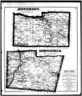 Page 047 - Jefferson and Springfield Townships, Big Bend, Leesburgh, London P.O., Balm P.O., Mercer County 1873