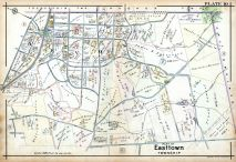 Plate 010 - Easttown Township, Pennsylvania Railroad 1912 Devon to Downingtown and West Chester