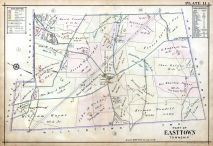 Plate 011 - Easttown Township, Pennsylvania Railroad 1912 Devon to Downingtown and West Chester