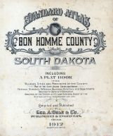 Title Page, Bon Homme County 1912