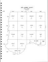 Bon Homme County Code Map, Bon Homme County 1995