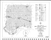 Bon Homme Highway Map, Bon Homme County 1995
