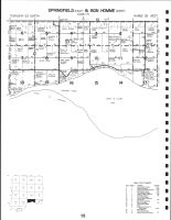 Springfield - East and Bon Homme - West Townships, Bon Homme County 1995