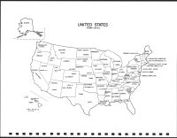 United States Map, Bon Homme County 1995