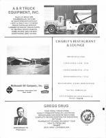 A&R Truck Equipment INC, McDonald Oil Co, Charly's Restaurant & Lounge, Gregg Drug, Brule County 1986
