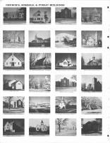 Dalesburg Lutheran Church, Dalesburg Baptist Church, Vermillion Baptist Church, Trinity Lutheran Church, Clay County 1968