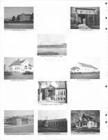 Irene Public School, Meckling Post Office, Sunset Manor Rest Home, Burbank Public School, Garfield Town Hall, Carnegie Library, Clay County 1968
