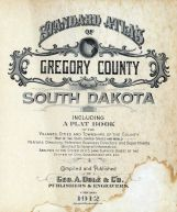Title Page, Gregory County 1912