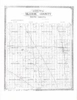 McCook County Outline Map