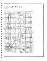 Minnehaha County Map - East, Minnehaha County 1917