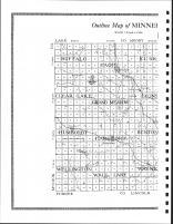 Minnehaha County Map - West, Minnehaha County 1917