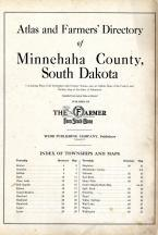 Title Page, Index, Minnehaha County 1929
