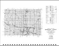 Minnehaha County Highway Map, Minnehaha County 1984