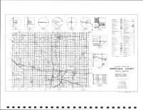 Minnehaha County Highway Map, Minnehaha County 1991