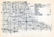 Roberts County Highway Map 2, Roberts County 1952
