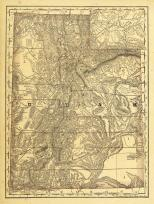 Utah Antique Maps And Historical Atlases Historic Map Works - Utah maps