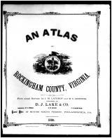 Title Page, Rockingham County 1885