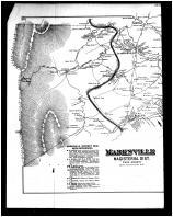 Marksville Magisterial District, Leakesville, Alma Left, Shenandoah and Page Counties 1885