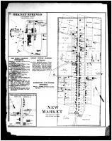 New Market, Orkney Springs, Shenandoah Alum Springs P.O., Shenandoah and Page Counties 1885