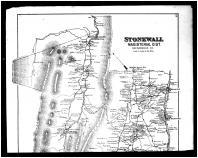 Stonewall Magisterial District, Toms Brook, Woodstock, Alonzaville, Harrisville, Maurertown Above, Shenandoah and Page Counties 1885