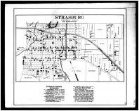 Strasburg, Shenandoah and Page Counties 1885