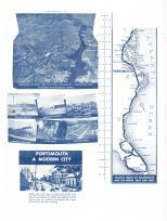 Portsmouth 2, Virginia 1950c Nirenstein City Maps