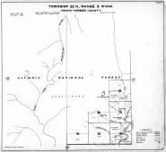 Township 22 N., Range 8 W., Olympic National Forest, Humptulips River, Weatherwax Creek, Fitzgerald Pk., Gray's Harbor County 1935