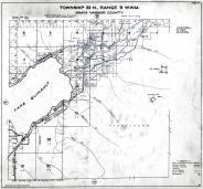 Township 23 N., Range 9 W., Quinault, Indian Res., Gatton Creek, Wright Canyon, Mt. Baldy, Gray's Harbor County 1935