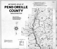 Title Page, Index Map, Pend Oreille County 1941