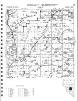 Lincoln Township - Southeast, Waumandee Township - Northeast