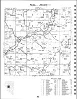 Code 13 - Alma Township - Central, Lincoln Township - Northwest, Buffalo County 1993