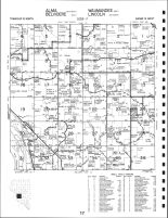 Code 17 - Alma Township - SW, Belvidere Township - E, Waumandee Township - W, Lincoln Township -SW, Buffalo County 1993
