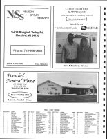 Dover Township Owners Directory, Ad - Nelson Spray Service, City Furniture, Poeschel Funeral Home, Buffalo County 2005