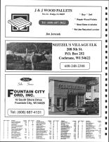 Llincoln and Waumandee Townships Owners Directory, Ad - J and J Wood Pallets, Neitzel's Village Elk, Buffalo County 2005