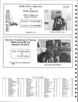 Naples Township Owners Directory, Ad - Fedie Well Drilling and Pump Service, Marten Trucking And Farms, Buffalo County 2005