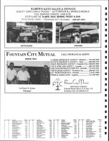 Waumandee, Milton and Cross Townships Owners Directory, Ad - Elmer's Auto Sales, Fountain City Mutual, Buffalo County 2005