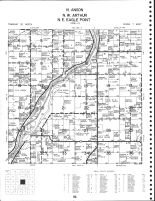 Anson Township - North, Arthur Township - Northwest, Eagle Point Township - Northeast, Chippewa County 1979