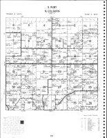 Ruby Township - South, Colburn Township - North, Chippewa County 1979