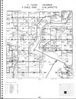Tilden - East, Anson Southeast, Eagle Point - South, and Lafayette - Northwest Townships, Chippewa Falls, Chippewa County 1979