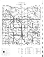 Woodmohr Townhship - East, Eagle Point Township Northeast, Bloomer, Chippewa County 1979