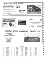 E Hallie and SW Lafayette Townships Owners Directory, Ad - Konsella Drug Store, Onocal Fuel Service, Chippewa County 1991