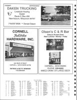 East Birch Creek Township and North Lake Holcombe Township Owners Directory, Ad - Daken Trucking, Chippewa County 1991