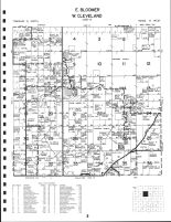 East Bloomer Township, West Cleveland Township, Chippewa County 1991