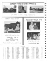 East Delmar Township Owners Directory, Ad - Setzer Truckilng and Farmain, Lonelly Ridge Dairy, Chippewa County 1991