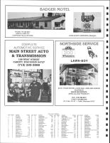 NE Lafayette, SE Anson, SW Arthur, NW Sigel and W Goetz Townships Owners Directory, Ad - Badger Motel, Chippewa County 1991